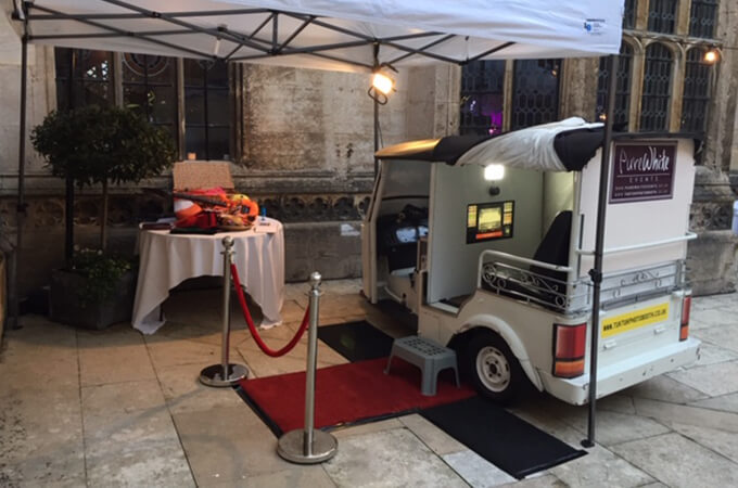 Photo booth hire for events